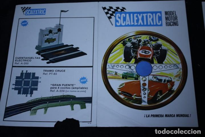 Scalextric: scalextric años 70 folletin catalogo y sacalextric club años 60 - Foto 8 - 204244338