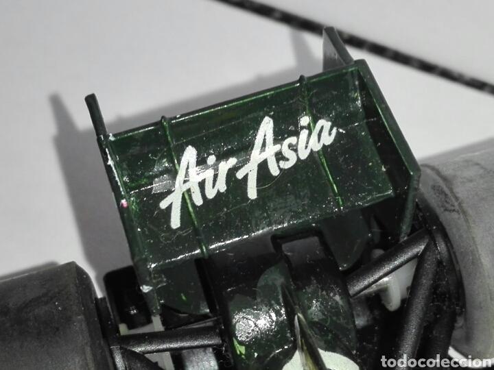 Scalextric: -CATERHAM TEAM AIR ASIA 2012 - PINTADO A MANO CON CALCAS - Foto 15 - 204766486