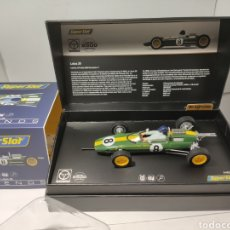 Scalextric: SUPERSLOT LEGENDS LOTUS 25 - JIM CLARK MONZA 1963 REF. H4068A. Lote 204839601