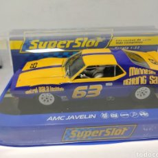 Scalextric: SUPERSLOT AMC JAVELIN SCCA TRANS AM 1972 REF. H3876. Lote 205018640