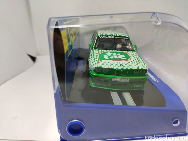 Scalextric: SUPERSLOT BMW E30 M3 DTM RACE SERIES TIC TAC REF. H3865 - Foto 2 - 222611136