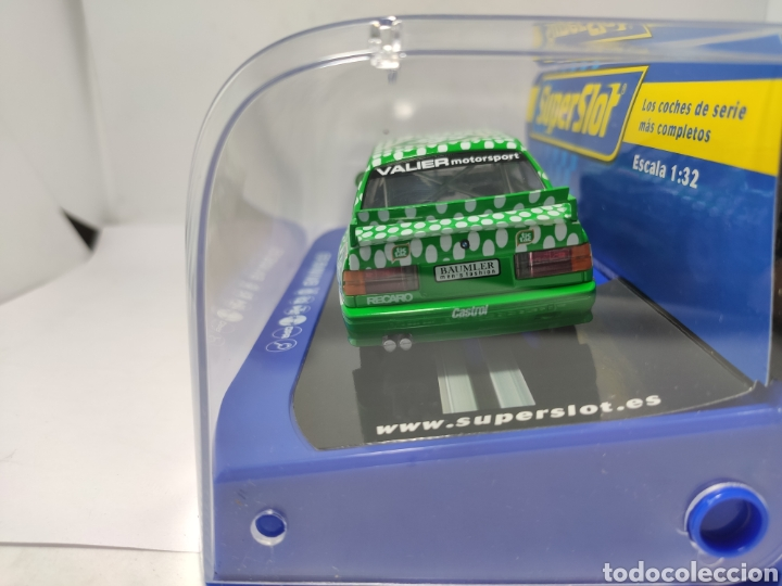 Scalextric: SUPERSLOT BMW E30 M3 DTM RACE SERIES TIC TAC REF. H3865 - Foto 3 - 222611136