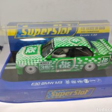 Scalextric: SUPERSLOT BMW E30 M3 DTM RACE SERIES TIC TAC REF. H3865. Lote 205026608