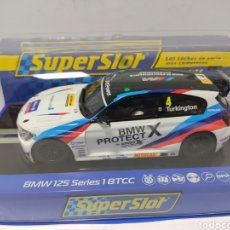 Scalextric: SUPERSLOT BMW 125 SERIES 1 BRITISH TOURING CAR CHAMPIONSHIP 2017 REF. H3920. Lote 205027052