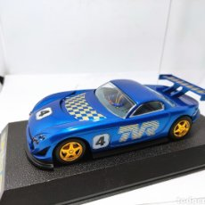 Scalextric: SUPERSLOT TVR AZUL HORNBY. Lote 205649260