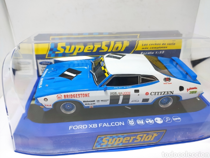 SUPERSLOT FORD XB FALCON GT 1975 BATHHURST REF. 4039 (Juguetes - Slot Cars - Scalextric SCX (UK))