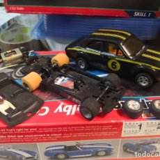 Scalextric: PACK COCHE FORD ESCORT RS1600 SCALEXTRIC C-052 MADE IN GREAT BRITAIN MÁS PIEZAS ADICIONALES. Lote 206948926
