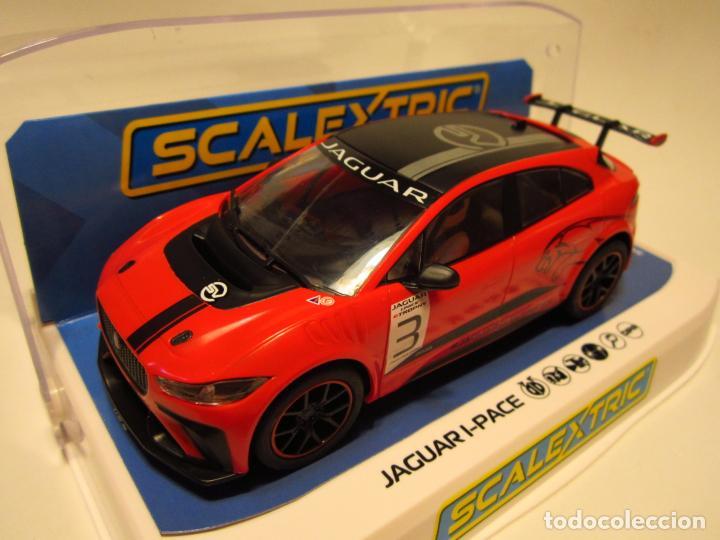 JAGUAR I PACE ETROPHY SCALEXTRIC UK NUEVO (Juguetes - Slot Cars - Scalextric SCX (UK))