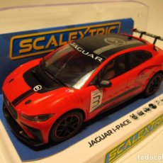 Scalextric: JAGUAR I PACE ETROPHY SCALEXTRIC UK NUEVO. Lote 206951290