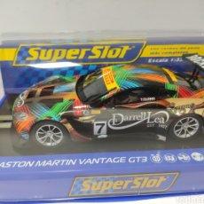 Scalextric: SUPERSLOT ASTON MARTÍN VANTAGE GT3 AUSTRALIAN GT CHAMPIONSHIP 2013 REF. H3856. Lote 207746831