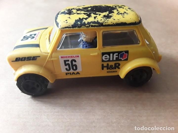 2 MINI COOPER HORNBY HOBBIES SCALEXTRIC AMARILLO Y ROJO,SOLO LAS CARCASAS (Juguetes - Slot Cars - Scalextric SCX (UK))
