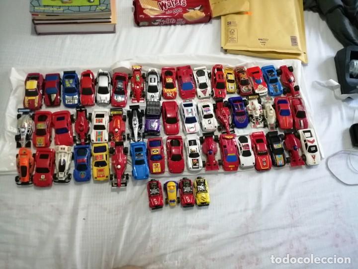 LOTE 55 COCHES SCALEXTRIC VER FOTOGRAFÍAS NO ENTIENDO DE SCALEXTRIC (Juguetes - Slot Cars - Scalextric SCX (UK))