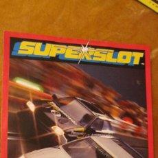 Scalextric: SCALEXTRIC UK. SUPERSLOT: CATALOGO NOVEDADES 1993, DIPTICO TAMAÑO FOLIO. Lote 211567439