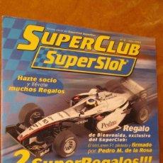 Scalextric: SCALEXTRIC UK. SUPERSLOT: SUPECLUB SUPESLOT Nº 0 DEL AÑO 2005 , 12 PAGINAS GRUESAS TAMAÑO FOLIO. Lote 211567891