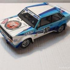 Scalextric: FIAT 131 MIRAFIORI ABARTH SCX RALLY MONTECARLO ORIGINAL. Lote 228467225