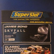 Scalextric: SCALEXTRIC UK:SUPERSLOT: COLECCION 2013. Lote 213135516