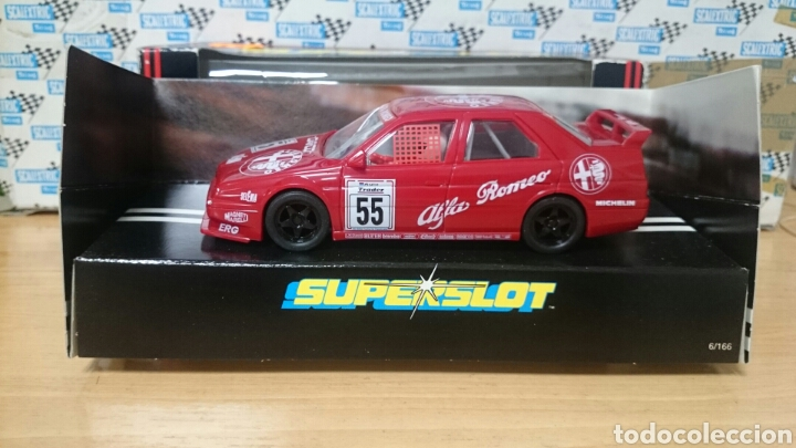 ALFA ROMEO 155 SCALEXTRIC SUPERSLOT HORNBY (Juguetes - Slot Cars - Scalextric SCX (UK))