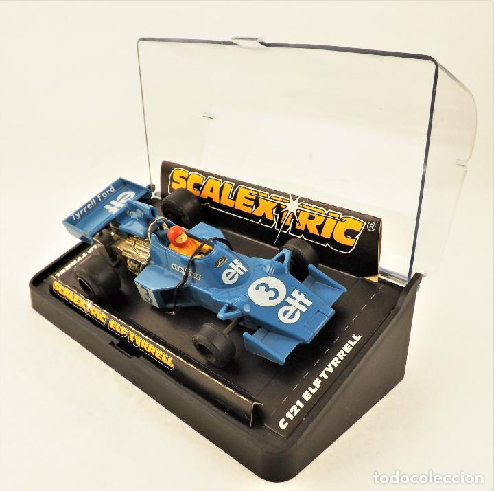 SCALEXTRCI UK C121 ELF TYRRELL (Juguetes - Slot Cars - Scalextric SCX (UK))