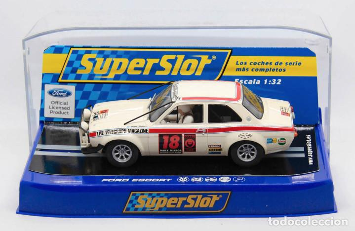 FORD ESCORT MKI 1º LONDON-MÉXICO WORLD CUP RALLY (SCALEXTRIC SUPERSLOT) (Juguetes - Slot Cars - Scalextric SCX (UK))