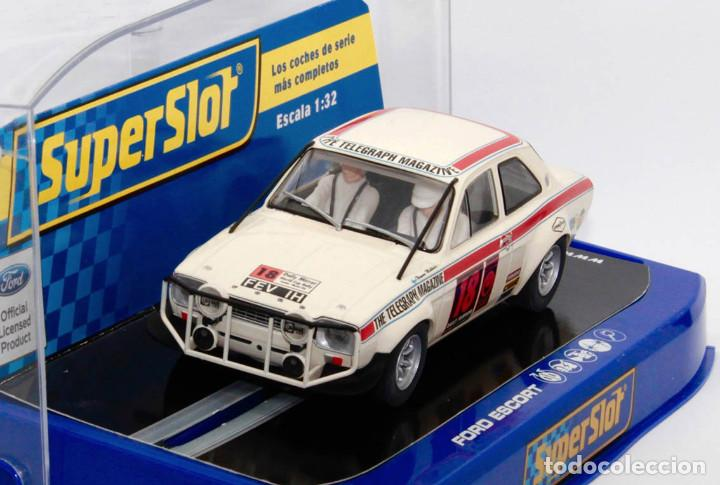 Scalextric: Ford Escort MKI 1º London-México World Cup Rally (Scalextric Superslot) - Foto 2 - 214493956