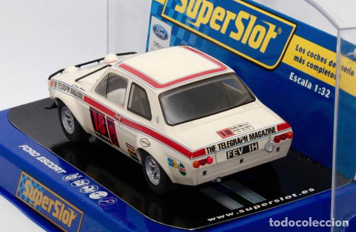 Scalextric: Ford Escort MKI 1º London-México World Cup Rally (Scalextric Superslot) - Foto 3 - 214493956