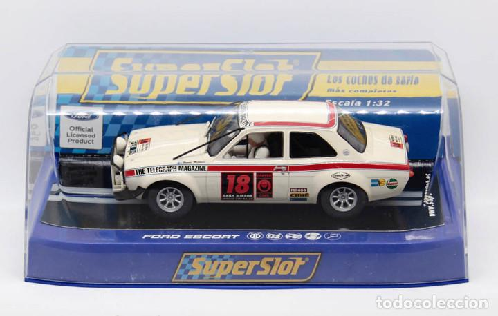 Scalextric: Ford Escort MKI 1º London-México World Cup Rally (Scalextric Superslot) - Foto 4 - 214493956