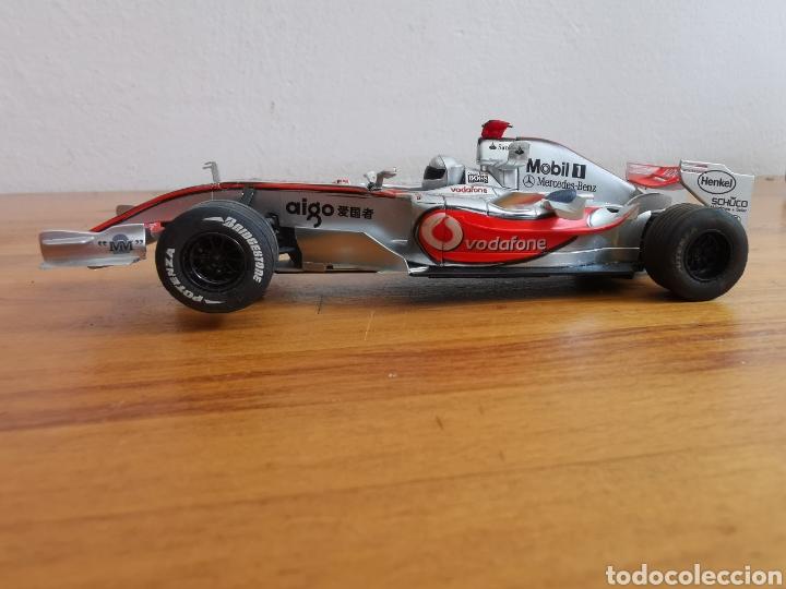 Scalextric: Coche scalextric de SCX McLaren MP4 21 Vodafone Plata - Foto 2 - 214522028