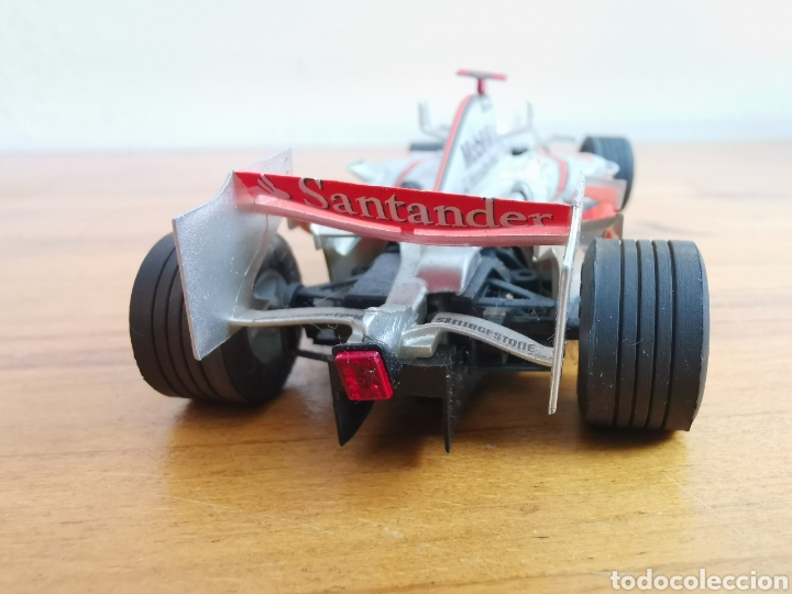 Scalextric: Coche scalextric de SCX McLaren MP4 21 Vodafone Plata - Foto 3 - 214522028