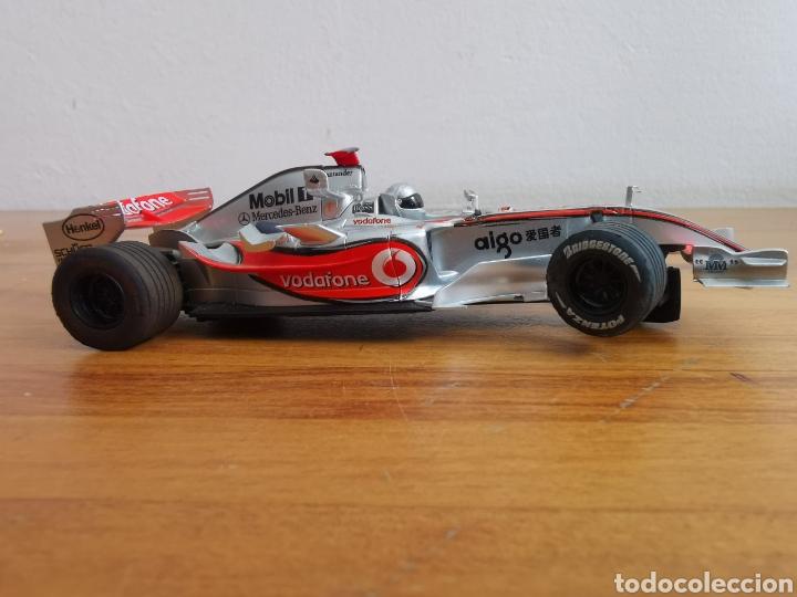 Scalextric: Coche scalextric de SCX McLaren MP4 21 Vodafone Plata - Foto 5 - 214522028