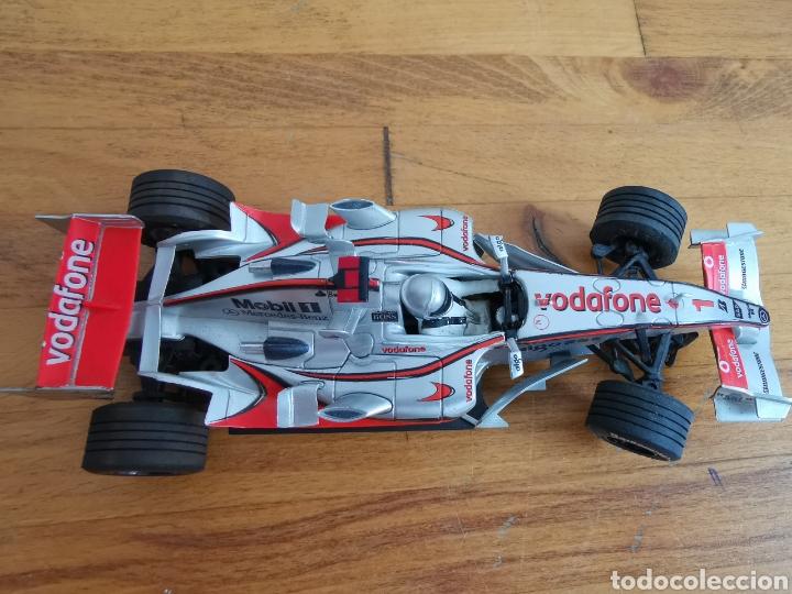 Scalextric: Coche scalextric de SCX McLaren MP4 21 Vodafone Plata - Foto 6 - 214522028