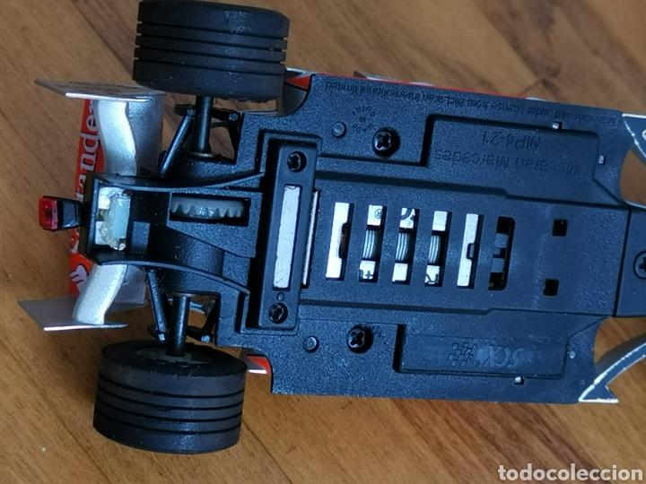 Scalextric: Coche scalextric de SCX McLaren MP4 21 Vodafone Plata - Foto 8 - 214522028