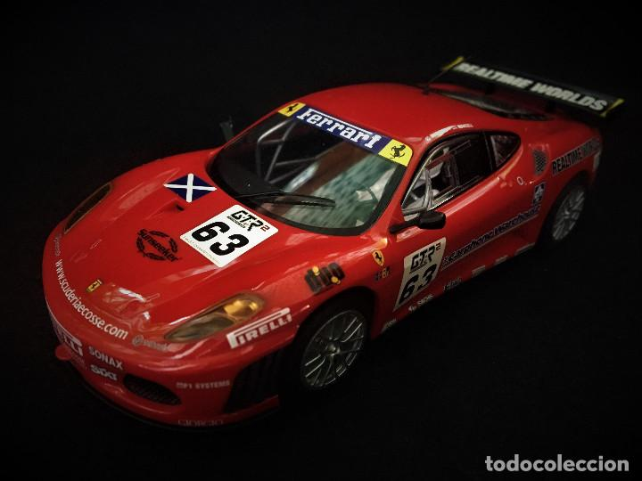 FERRARI F430 GTC SCALEXTRIC UK REF. C3012 (Juguetes - Slot Cars - Scalextric SCX (UK))