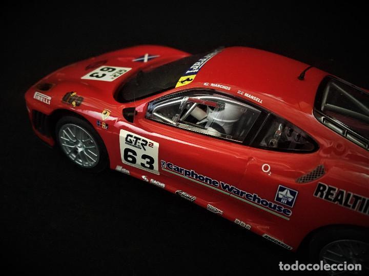 Scalextric: FERRARI F430 GTC SCALEXTRIC UK REF. C3012 - Foto 7 - 215008283