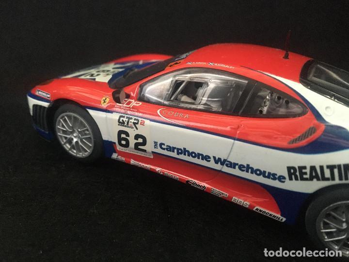 Scalextric: FERRARI F430 GTC SCALEXTRIC UK REF. C2804 - Foto 7 - 215009625