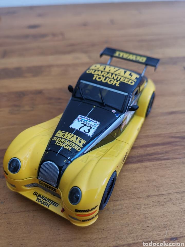 COCHE SCALEXTRIC DE SCX MORGAN AERO 8 Nº73 AMARILLO (Juguetes - Slot Cars - Scalextric SCX (UK))