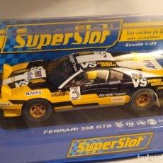 Scalextric: FERRARI 308 GTB DE SUPERSLOT. Lote 219071791