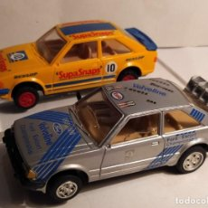 Scalextric: LOTE DE DOS FORD ESCORT XR3I DE SCALEXTRIC INGLES. Lote 219243077