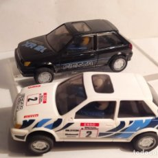 Scalextric: LOTE DE DOS FORD FIESTA XR2I DE SUPERSLOT. Lote 219243108