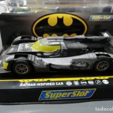 Scalextric: H4140 - BATMAN INSPIRED CAR DE SUPERSLOT. Lote 235250715