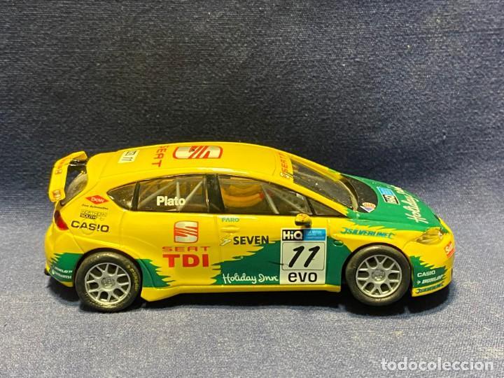COCHE SEAT LEON WTCC SCX 14CMS (Juguetes - Slot Cars - Scalextric SCX (UK))