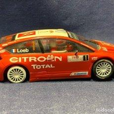 Scalextric: SCX CITROEN C4 WRC SCALEXTRIC 13,5CMS. Lote 221102636