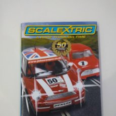 Scalextric: A RACE THROUGH TIME - THE OFFICIAL 50TH ANNIVERSARY BOOK. Lote 221410558
