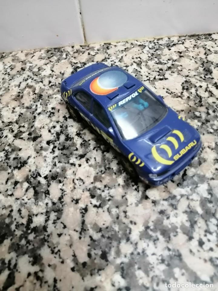 COCHES ESCALEXTRIC SUBARU. SCX (Juguetes - Slot Cars - Scalextric SCX (UK))