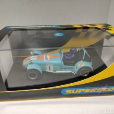 Scalextric: SUPERSLOT CATERHAM GULF 2002 SUPERSLOT REF. H2490. Lote 222738725