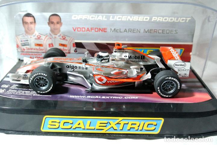 COCHE SLOT SCALEXTRIC DIGITAL Nº 1 F. ALONSO VODAFONE MCLAREN MERCEDES C2806D,COCHE COMO NUEVO * (Juguetes - Slot Cars - Scalextric SCX (UK))