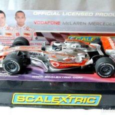 Scalextric: COCHE SLOT SCALEXTRIC Nº 1 F. ALONSO VODAFONE MCLAREN MERCEDES 2007, C2806, COMO NUEVO *. Lote 224020771