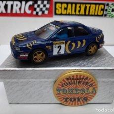 Scalextric: SUBARU #2 LINELTEL - REPSOL SCALEXTRIC. Lote 225728910