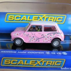 Scalextric: SCALEXTRIC UK C3224 SUPERSLOT MORRIS MINI COOPER TWIGGY. Lote 228084655
