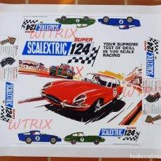 Scalextric: SCALEXTRIC SUPER 124 SET 200 & 210 PAPEL TAPA (LEER DESCRIPCIÓN). Lote 228174210