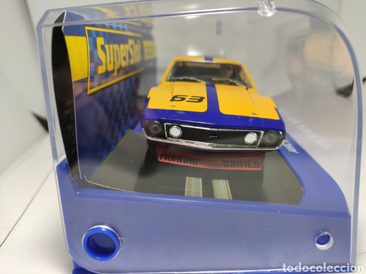Scalextric: SUPERSLOT AMC JAVELIN SCCA TRANS AM 1972 N°63 REF. H3876 - Foto 2 - 245288560